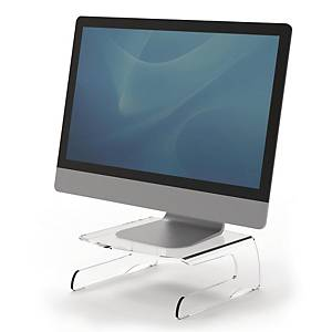 SUPORTE MONITOR FELLOWES CLARITY TRANSP