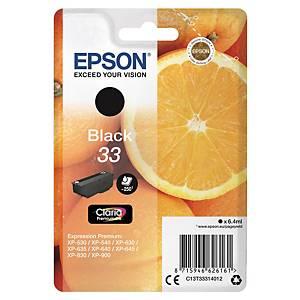 Epson 33 Ink Cartridge Black