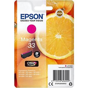 Epson 33 Ink Cartridge Magenta