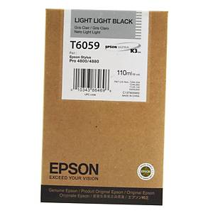 Epson T6059 Ink Cartridge Light Light Black