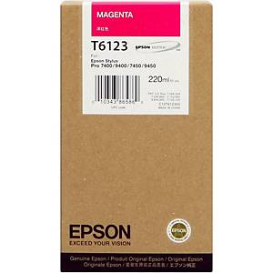 Epson T6123 Ink Cartridge Magenta