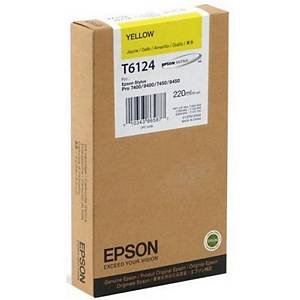 Epson T6124 Ink Cartridge Yellow
