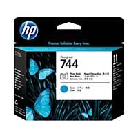 HP 744 Photo Black/Cyan DesignJet Printhead (F9J86A)