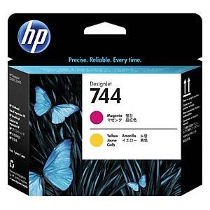 HP 744 Magenta/Yellow DesignJet Printhead (F9J87A)
