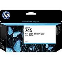 HP 745 130-ml DesignJet Photo Black Ink Cartridge (F9J98A)