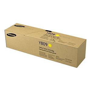 Samsung CLT-Y809S Yellow Toner Cartridge (SS742A)