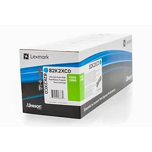 Lexmark 82K2XC0 Laser Toner Cartridge Cyan