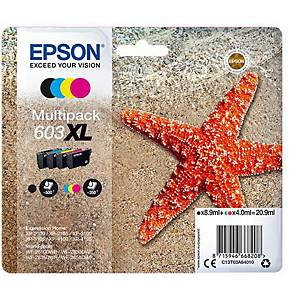 Epson C13T03A64010 603XL Ink BCMY