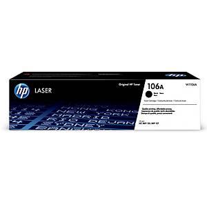Toner laser HP W1106A 106A 1K nero