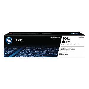 HP 106A W1106A  LAS CART BLK