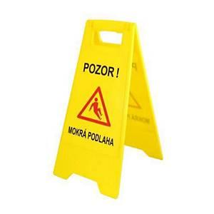 Výstražná značka  Pozor mokrá podlaha