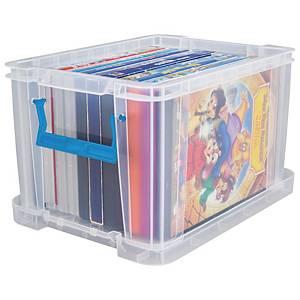 Allstore plastic opbergdoos, 5 l, transparant, per opbergbox