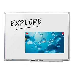 Legamaster Premium plus magnetisch emaillen whiteboard, 60 x 45 cm