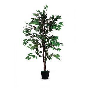 Paperflow Ficus decoratieve kunstplant, H 120 cm