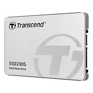 Disco duro interno SSD Transcend - 256 GB - 2,5  - SATA III - plateado