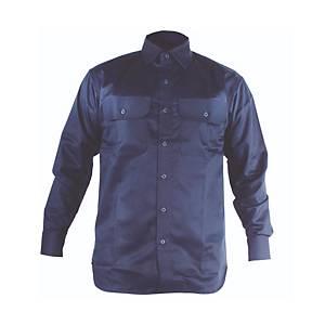 Camisa ignífuga manga larga 3L Permaweld - azul - talla S