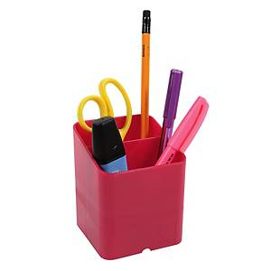 Exacompta Iderama PEN-CUBE, 2 Compartments, Raspberry