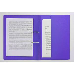 EXACOMPTA Forever Spiral File A4+ Purple - Pack Of 25
