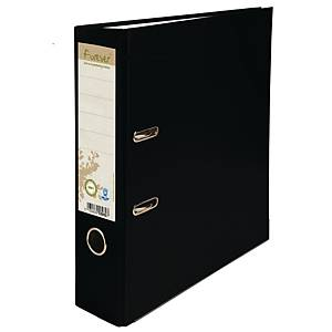 Exacompta Forever Recycled Prem Touch A4 Lever Arch File, 80mm Spine, Black