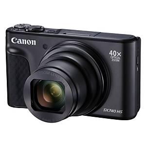 Canon PowerShot SX740HS digitális fényképezőgép, fekete
