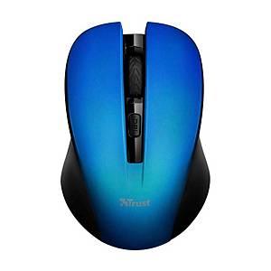 Bezdrátová  myš TRUST 21870 MYDO SILENT, modrá