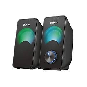 TRUST 23120 ARYS kompakt hangszórókészlet LED világítással