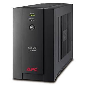 Batériový záložný zdroj APC, prepäťová ochrana, 1 400 VA, 230 V