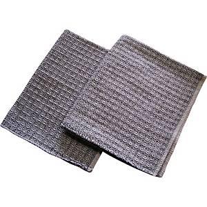 Hadr na podlahu Milada vaflový tkaný 60 x 50 cm, bílý