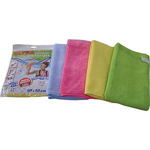 MICROULTRA WIPES 60X50 MIX PACKAGED