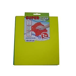 Superclear 40 x 35 cm, 160 g/m2, 2 ks v balení