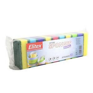 Špongia na riad 81 x 51 x 25mm DRT0085, 10 ks
