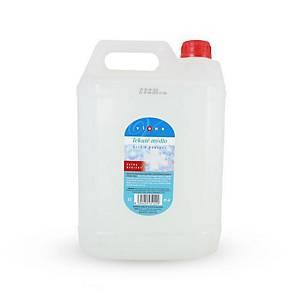 Gail Flüssigseife mit antibakteriellem Zusatz, weiß, 5.000 ml