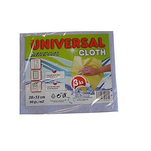 PK3 JANEGAL UNIVERSAL CLOTH 38X33 C MIX
