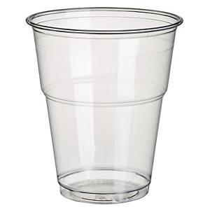 Trinkbecher Pure 16174, Material: Plastik, 300ml, glasklar, 70 Stück