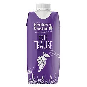 Traubensaft Beckers Bester, 0,33l Tetrapack, 12 Stück
