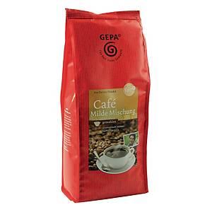 Kaffee Gepa 8950925, Milde Mischung, gemahlen, 500g