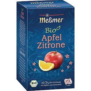 Tee Meßmer Bio Apfel Zitrone, 20 Beutel