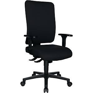 Bürostuhl Topstar Openx(P), offene Rückenschale, schwarz