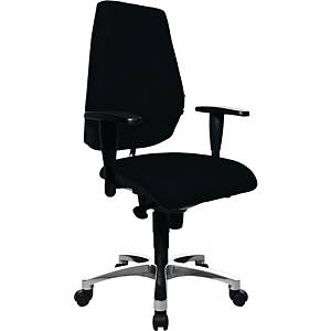 Bürostuhl Topstar Sitness 30, mittelhohe Rückenlehne, schwarz