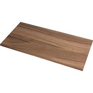 Schreibtischplatte Fellowes 987, Maße: 140 x 80cm, walnuss