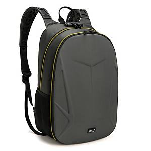 I-Stay IS0311 Padlocked Backpack 15.6  Grey/Yellow