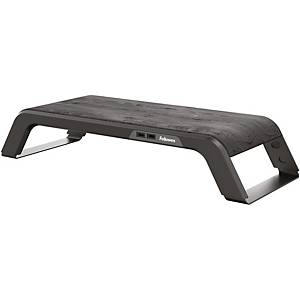 Fellowes 8060501 Hana Series Monitor Riser Black