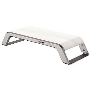 Fellowes 8064201 Hana Series Monitor Riser White