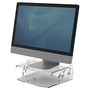 Support écran PC Fellowes Clarity - H 7 à 13 cm - transparent