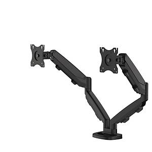 Fellowes 9683401 Eppa Dual Monitor Arm Black