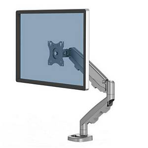 Fellowes 9683001 Eppa Single Monitor Arm Silver