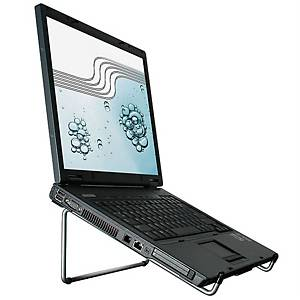 R-Go Steel Basic Laptop Stand, Silver
