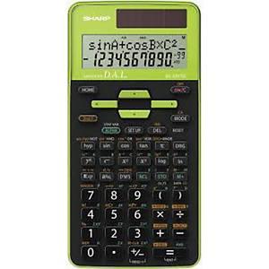 Sharp SH-EL531TGGR Scientific Calculator Green