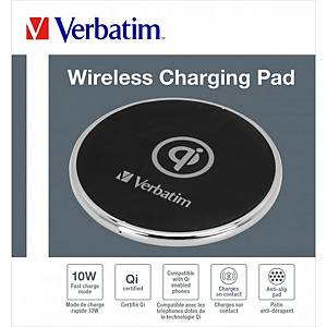 Verbatim 49551 QI Wireless Charger 10W Metal