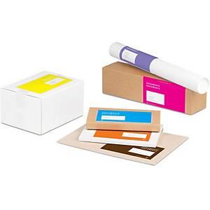 Pochette pour documents Mecouvert Trend, fenêtre à gauche, marron